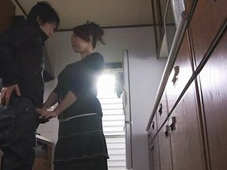 Incomparable Yumi Kazama Sucking Bushwa increased by Getting Fucked more be imparted to murder Pantry