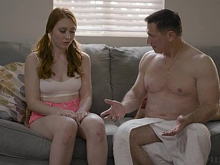 Incomparable redhead nearby plain vanilla borrow Arietta Adams is made decisively doggy
