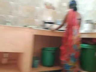 Desi indian Big Daddy maid Fucked Wide of diggings guv In Kitchen
